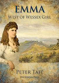 Book cover of Emma West of Wessex Girl